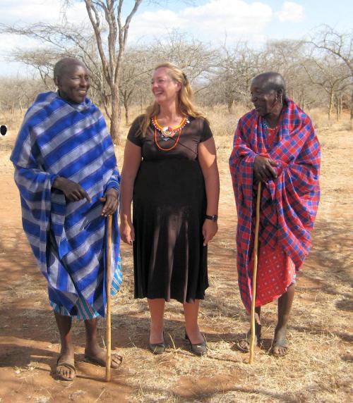 Susan Jokes around with Lion Killers